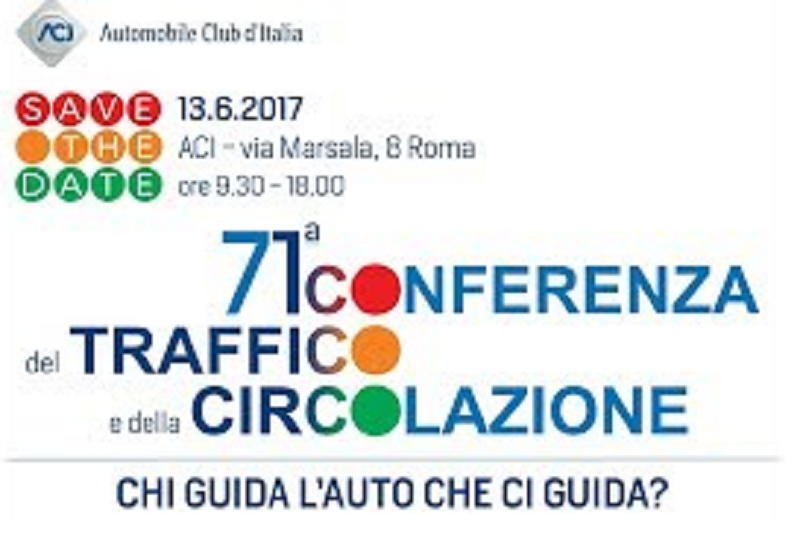 71st ACI Conference about traffic and traffic flow - Who drives the car that drives us?